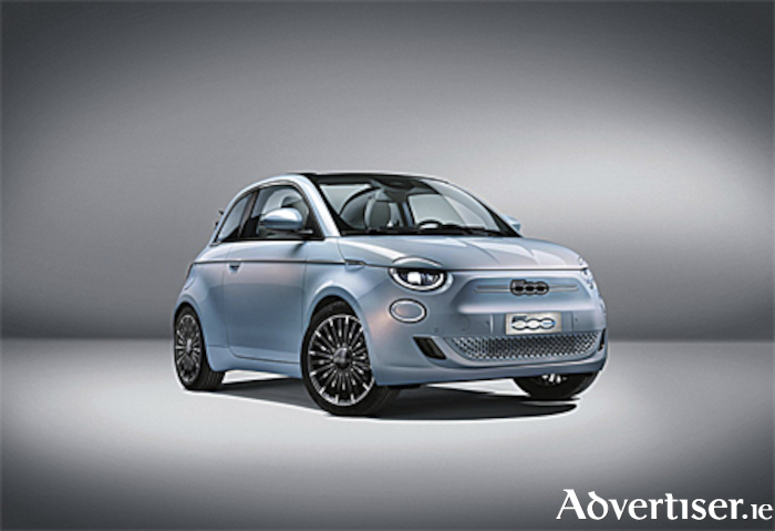 All new electric Fiat 500