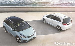 Honda's new hybrid powered Jazz models.