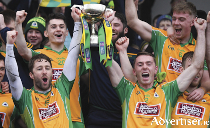 Favourites again: Who can stop the All Ireland champions  Corofin from celebrating an eighth Galway title on the trot?