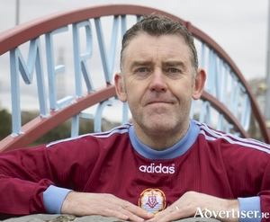 Former Galway United player Donnie Farragher. 