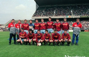 Dreams are made of this, the 1991 FAI Cup final winners, Galway United.