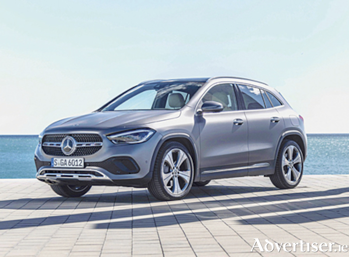 The sense of spaciousness is key to the new Mercedes GLA SUV.
