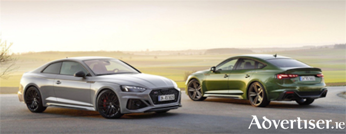 More elegant looking Audi RS 5 Coupe and Sportback