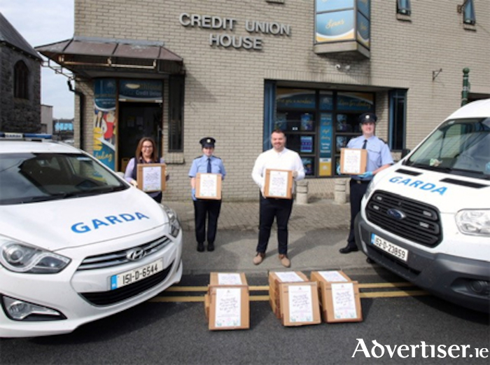 Athlone Credit Union have donated PPE towards the 'local heroes' frontline medical staff COVID-19 cause.
