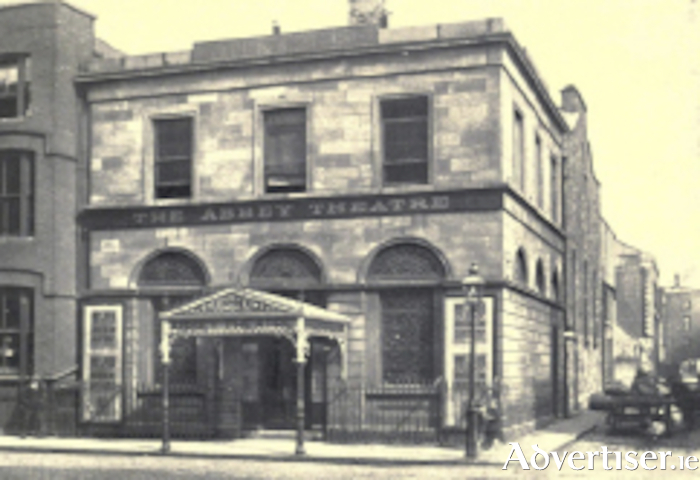 The old Abbey Theatre opened in December 1904, where many of its first plays created a national and international storm.