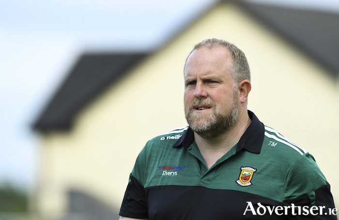 Mayo minor manager Tomas Morley wants to see this years crop of minors get a fair chance to show their best if the championship goes ahead this year. Photo: Sportsfile