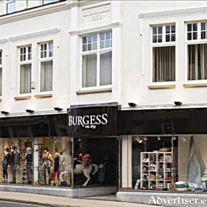 Burgess of Athlone will reopen for business on Monday morning at 11am