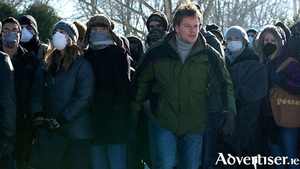 Matt Damon in Contagion.