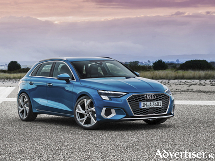 Atoll blueAll new Audi A3 Sportback is now available from Audi Athlone