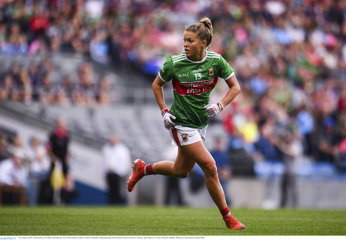 Date to aim for: Sarah Rowe and her Mayo Ladies team know their dates for their championship games later this year. Photo: Sportsfile