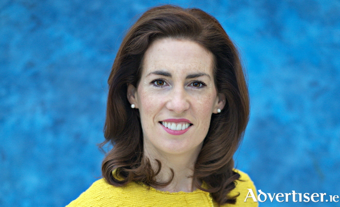 Fine Gael Galway West TD, and Minister of State for International and Road Transport and Logistics, Hildegarde Naughton.