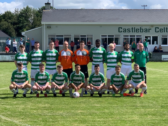 On the cup hunt: Castlebar Celtic will be looking for a place in the next round of the Connacht Cup this weekend. Photo: Castlebar Celtic