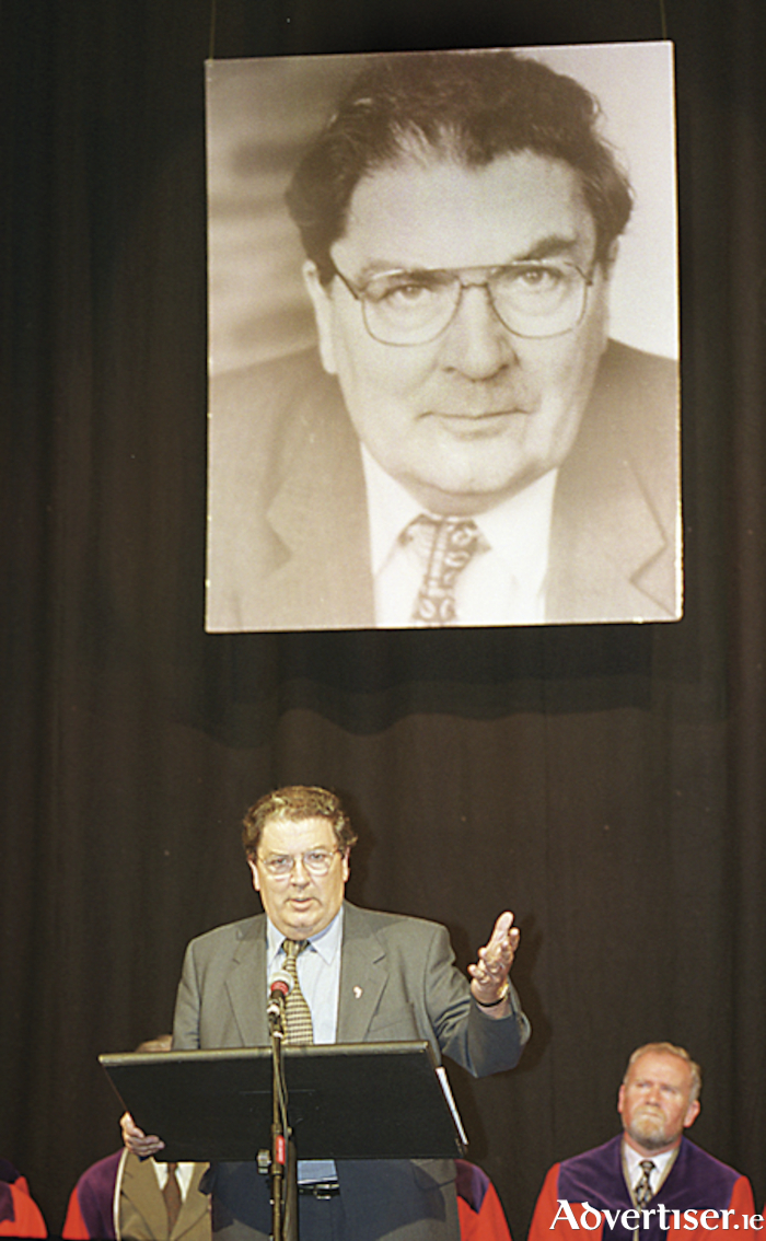 Former SDLP leader and Nobel Peace Prize winner, John Hume