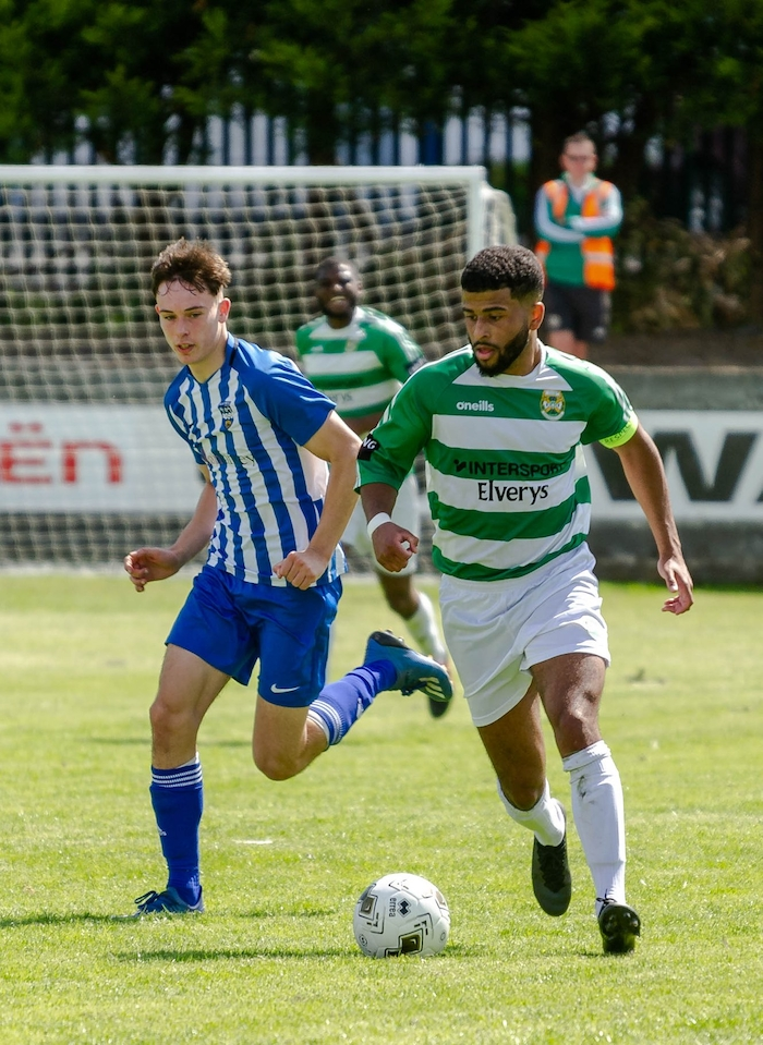 On the run: Castlebar Celtic will be looking to Jordan Loftus to play a key role this weekend. Photo: Castlebar Celtic