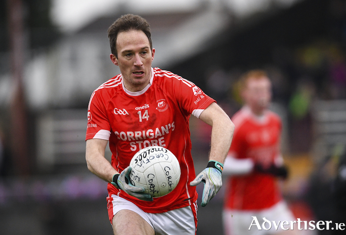 From the Dail to the ball: Alan Dillon went from Dail chamber to back to the championship football field with Ballintubber. Photo: Sportsfile.