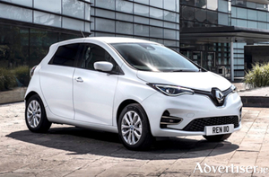 All new all electric Renault Zoe van