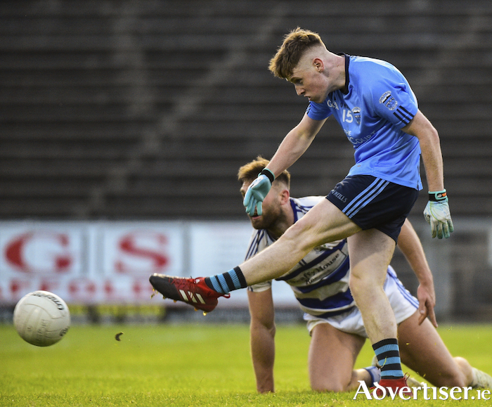 On the mark: Killian Kilkenny was on target for Westport against Castlebar Mitchels with six points to his name. Photo: Sportsfile