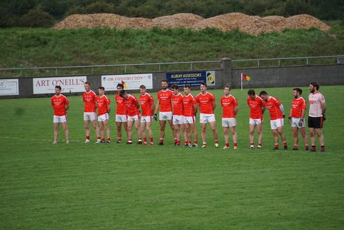 Champs move on: Ballintubber moved into the last eight after topping their group. Photo: Ballintubber GAA