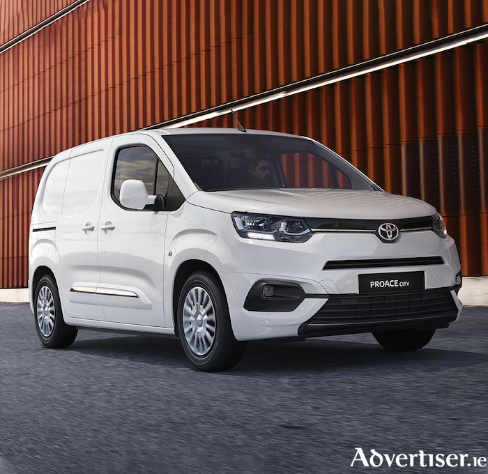 Toyota's latest commercial offering, the Proace City.