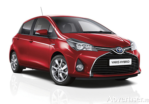 All new Toyota Yaris hybrid model