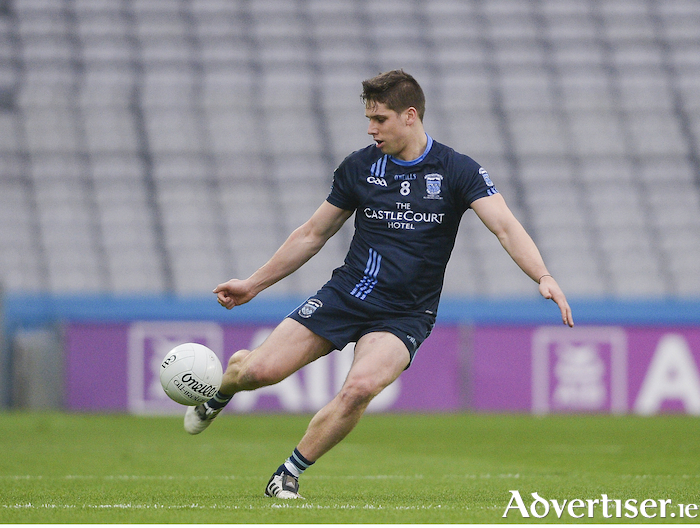 Kicking Keegan:  Lee Keegan and his Westport team are into the last four. Photo: Sportsfile