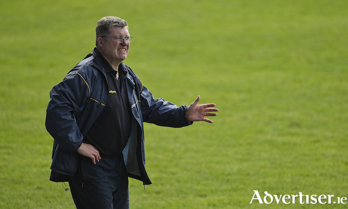 Back in the final: Knockmore manager Ray Dempsey has got his side back into the county final. Photo: Sportsfile