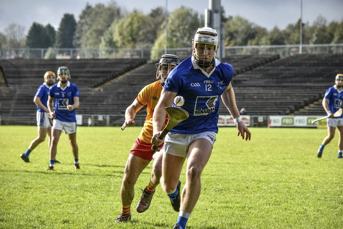Blue Devils:  Tooreen will be looking to claim another Mayo senior hurling championship tomorrow evening. Photo: Ciara Buckley