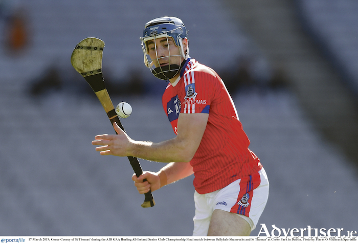 On song: Conor Cooney of St Thomas has scored 2-44 in this year's championship.