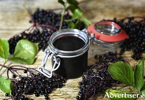 Elderberries are used in immune boosting tinctures and syrups.