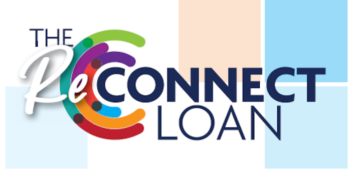 Exclusive to credit union members, the 'ReConnect Loan' comes in at a competitive 6.5% versus the usual 10% personal loan rate.