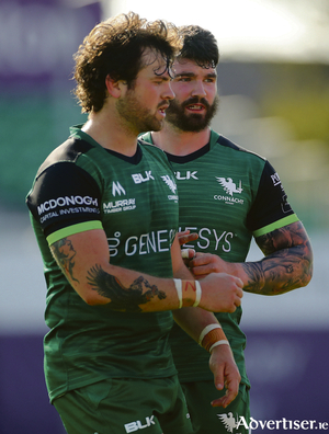 Connacht's Conor Oliver and Sam Arnold made an impression against their former club last Saturday in the A interprovincial against Munster at the Sportsground.