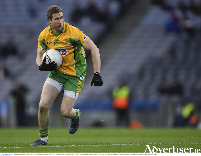 Gary Sice kicked seven points as Corofin eased to victory over Salthill-Knocknacarra.