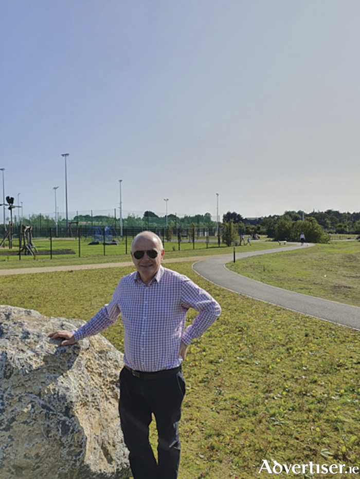 Athlone Regional Sports Centre Chairman, Cllr. Frankie Keena