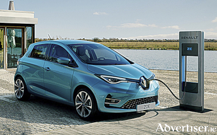 All new Renault Zoe EV