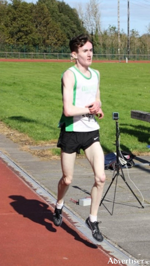 William Fitzgerald, winner of the 5000m at the Galway Track & Field Challenge.