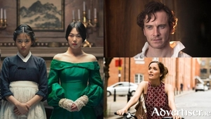 Kim Tae-ri and Kim Min-hee in The Handmaiden; Michael Fassbender in Jane Eyre; and Rose Byrne in Juliet Naked.
