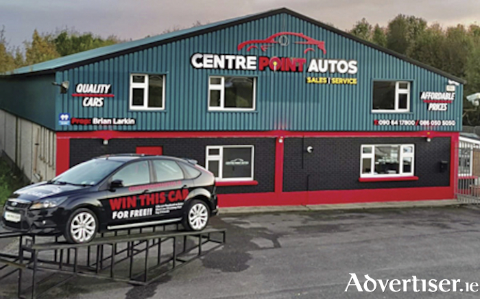 Following their relocation to Baylough, Athlone, Centrepoint Autos are offering customers the opportunity to win a new car