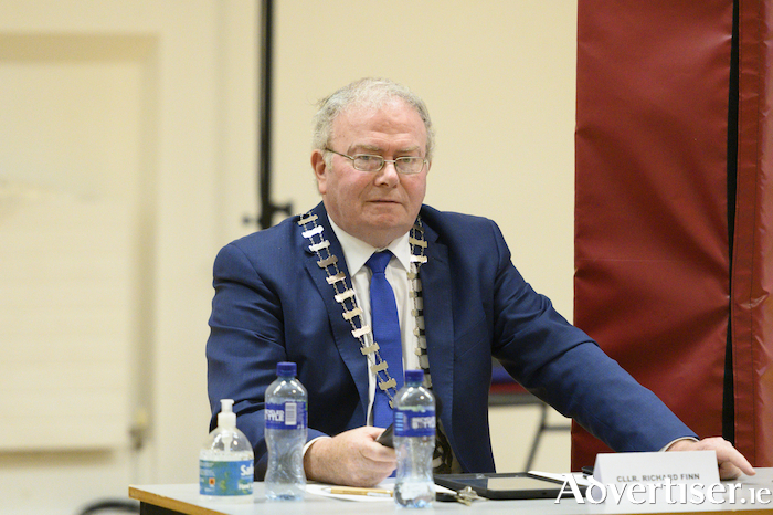 Cathaoirleach of Mayo County Council, Cllr Richard Finn