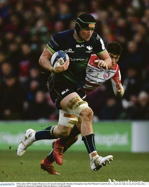 Connacht's Eoghan Masterson may partner Gavin Thornbury in the second row  against Edinburgh.
