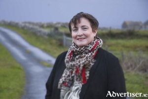 """I remember saying to my father [who died in 1998], 'Help me out',"" says Norita Ni Chartúir who got a stroke when she was fifty three years of age. 