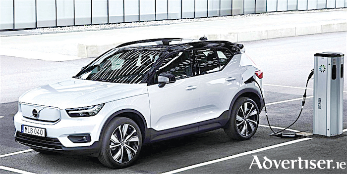 All new Volvo fully electric XC40 Recharge is on the way