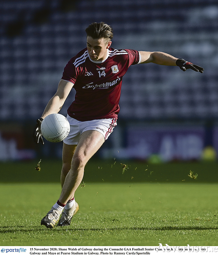 Shane Walsh - one of the best footballers in Ireland.  