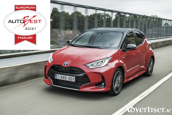 SAFETYBEST 2020 prize for the development and fitment of centre airbags in the new Yaris.