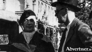 Nora and James Joyce sought refuge in Switzerland during World War II.