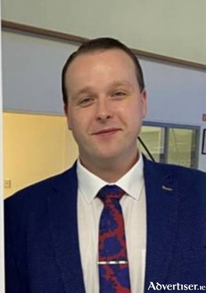 Declan Kenny, new sales manager at Sheils Motor Group.