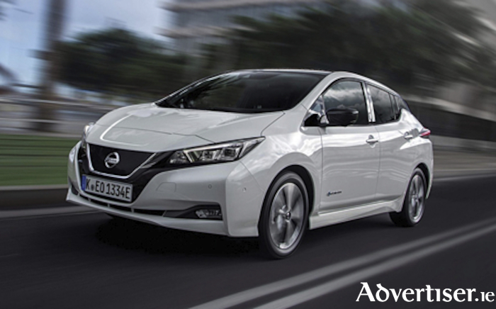 All new Nissan Leaf electric vehicle