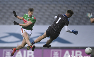 Ye are men of Mayo and much more. Photo: Sportsfile
