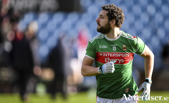 Tom Parsons was one of a number of Mayo players to announce their retirement from the inter-county game this week. Photo: Sportsfile.