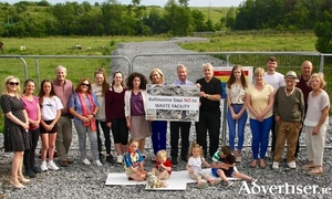 The Ballinasloe Says No group photographed in 2019.