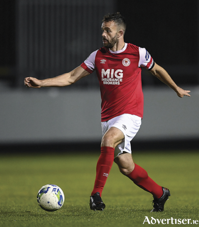 Athlone native, Robbie Benson, has extended his current contract with St Patrick's Athletic for the forthcoming 2021 season. Photo by Stephen McCarthy/Sportsfile